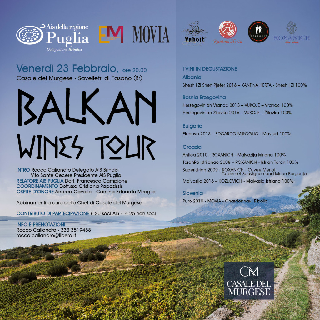 balkan wines tour